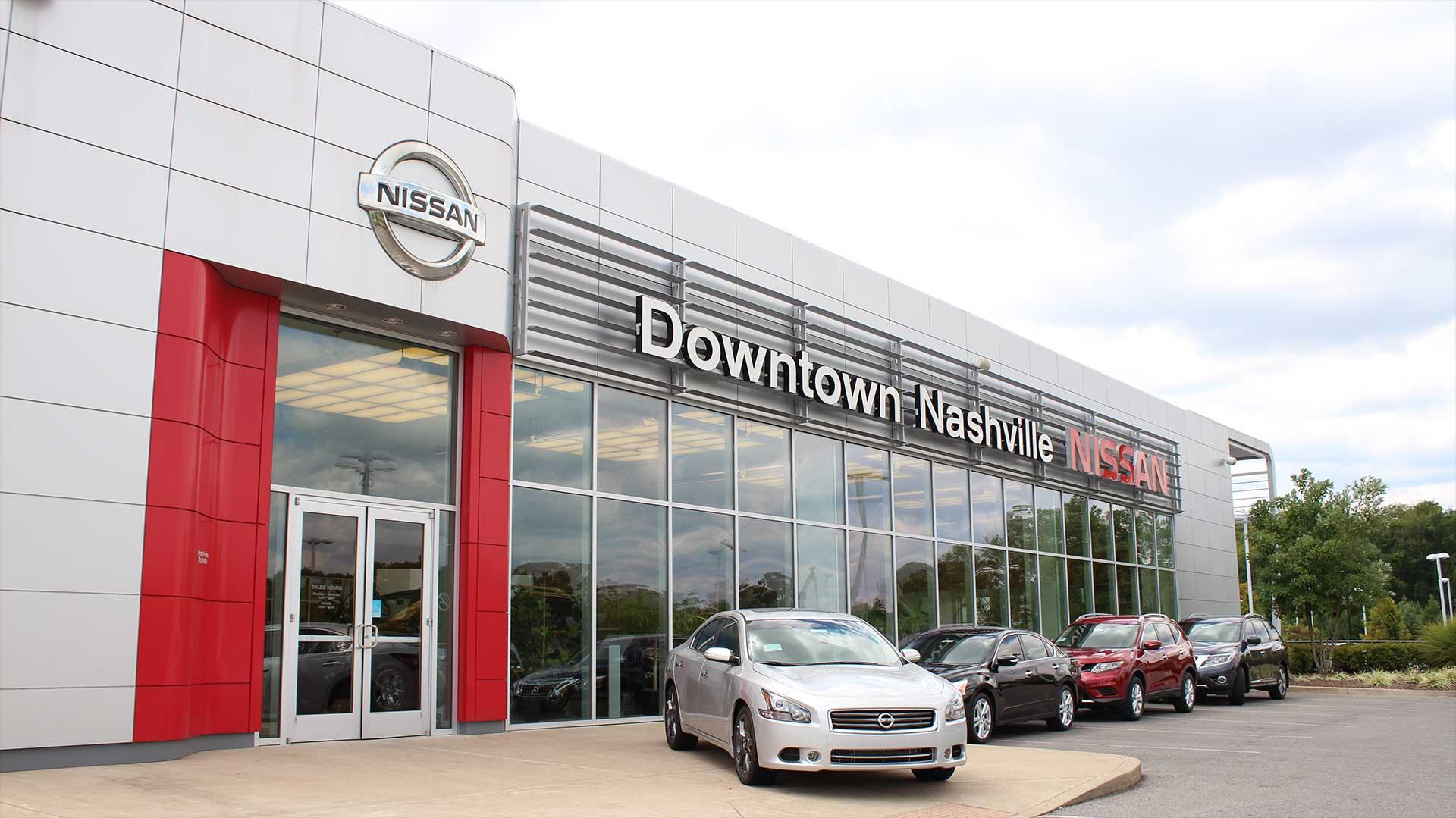 Car Lots In Nashville Tn >> Downtown Nashville Nissan New Used Nissan Dealership